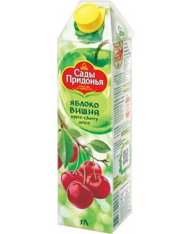 Нектар Сады придонья Яблоко-Вишня 1л