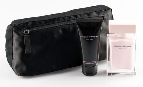 Narciso Rodrigues For Her Set (50ml Edp+50ml B/C+Pouch)