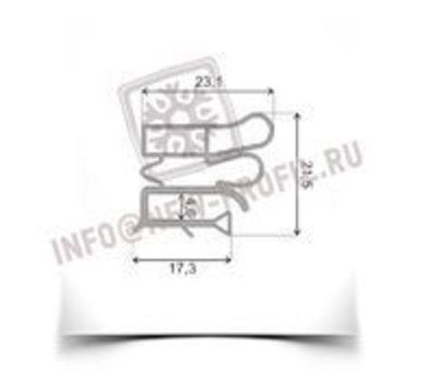 Уплотнитель 1140*575 мм для холодильника Орск 117 МКШ 190.(холодильная камера) Профиль 012/022