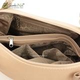 Сумка Саломея 110 флок бисквит