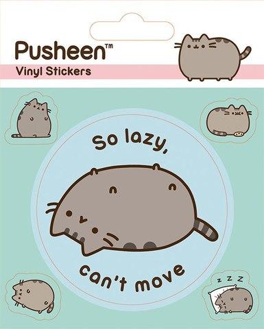 Набор стикеров Pusheen