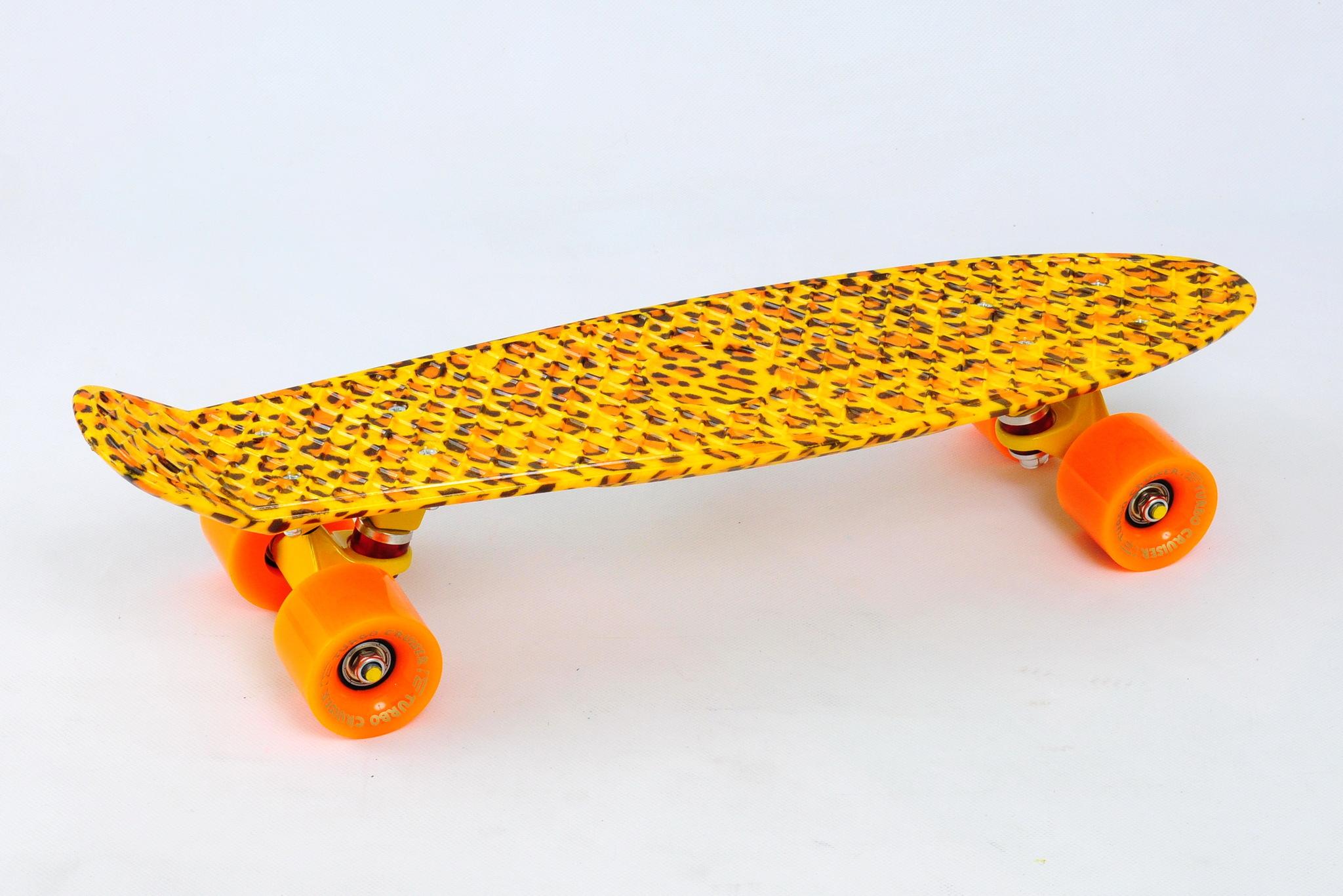 Скейтборд Turbo Cruiser 009 пластиковый