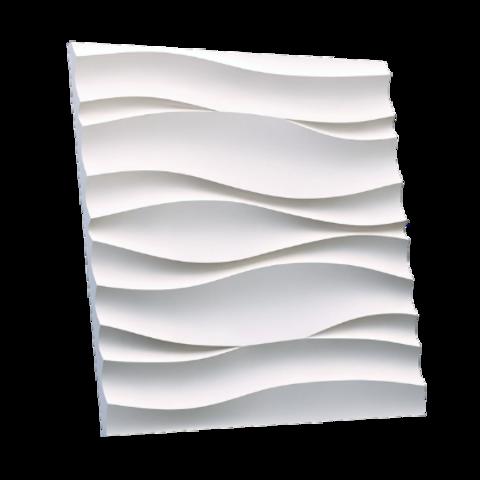 Гипсовая 3Д панель Волны Атлантики