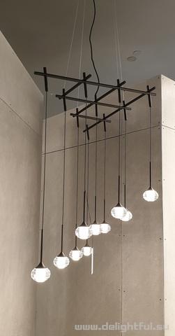 Vibia Algorithme replica chandelier 1