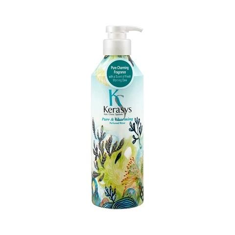 Кондиционер для сухих и ломких волос KeraSys Pure & Charming Parfumed Rinse 600мл