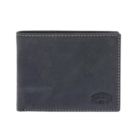 Кожаный бумажник Klondike 1896 «Yukon black», 9 отделений, Germany, фото 2