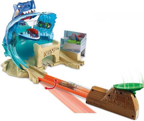Hot Wheels Игрушечный трек Схватка с акулой