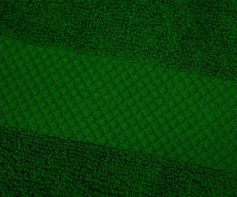 Полотенце 60х110 Mirabello Microcotton темно-зеленое