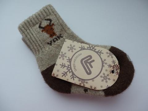 Носки детские из верблюжьей шерсти фото2