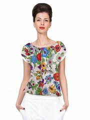 B144-13z блузка женская, цветная