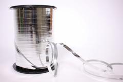 Лента металл (0,5см*250ярд) Серебро