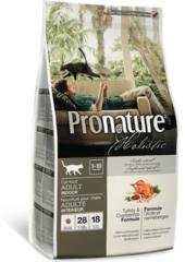 Корм для взрослых кошек, Pronature Holistic, с индейкой и клюквой
