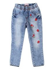 GJN010814 джинсы для девочек, айс