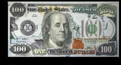 """Постер """"Всемогущий доллар"""""""