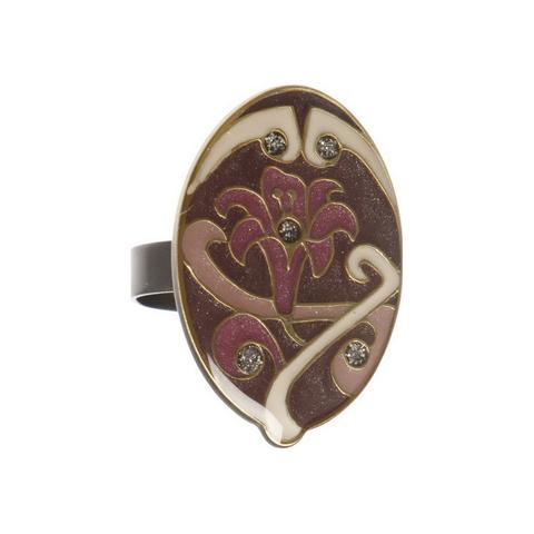 Кольцо лилия K77369 V