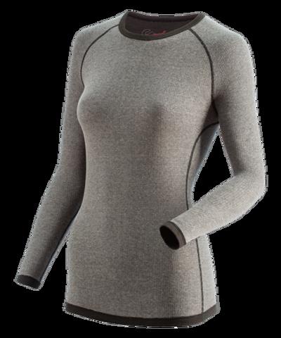 Guahoo Outdoor 22-0411 S-MGY Фуфайка для женщин серый меланж