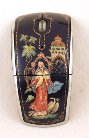 Мышь компьютерная с ручной росписью 1425