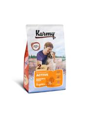 Корм для взрослых собак средних и крупных пород, Karmy Active Medium & Maxi, в возрасте старше 1 года, с повышенным уровнем физической активности