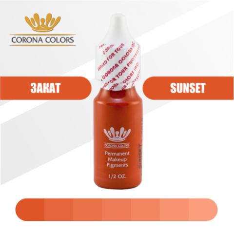 Пигмент Corona Colors Закат (Sunset) 15 мл