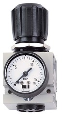 Регулятор давления с манометром DM 1/2 W