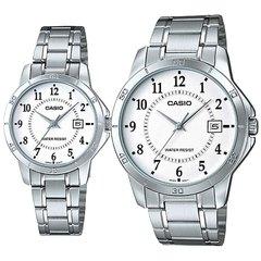 Парные часы Casio Standard: MTP-V004D-7BUDF и LTP-V004D-7BUDF