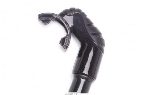 Трубка SARGAN Сивуч черный силикон