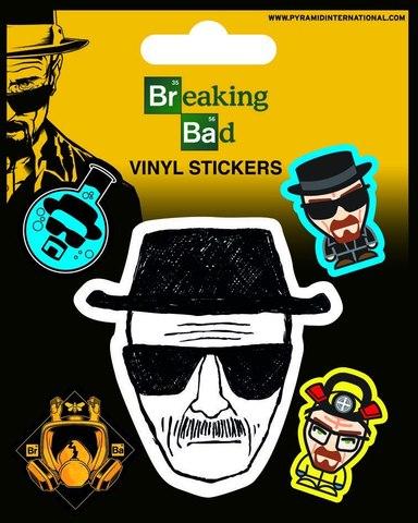 Набор стикеров Breaking Bad