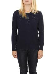 MS1726-1 кофта женская, темно-синяя