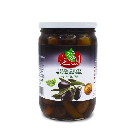 Оливки черные Rawiat Al Sham, 400 г