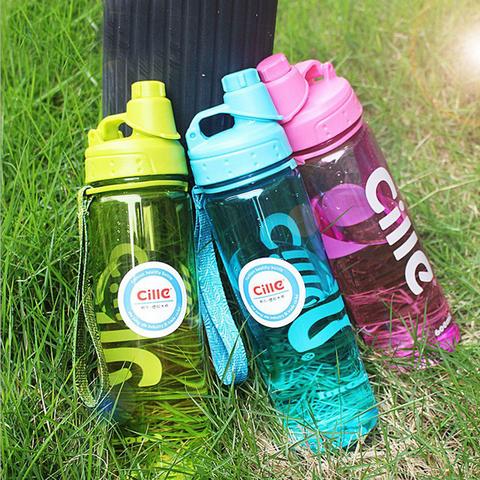 Спортивная бутылка для воды, 0.6 л.