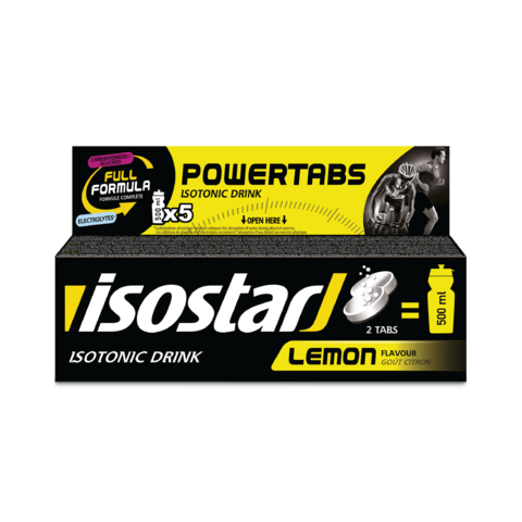 Изотоник Isostar в таблетках Powertabs лимон