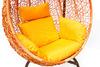 Плетеные качели KVIMOL KM 0001 большая корзина ORANGE
