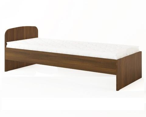Кровать КР-01 орех темный