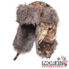Шапка ушанка Norfin Hunting Passion 750P (р. XL)