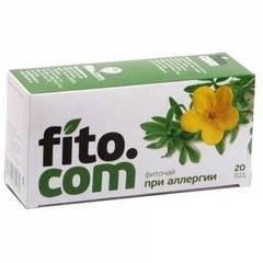 Фиточай, Фитоком Алтай, серии Fito.com, При аллергии, №20