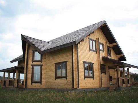 """Дом из бруса """"МД-Б-196"""" 196 кв.м."""
