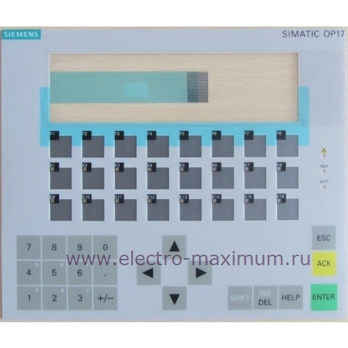Siemens OP17 6AV3617-1JC20-0AX1 6AV3617-1JC30-0AX1