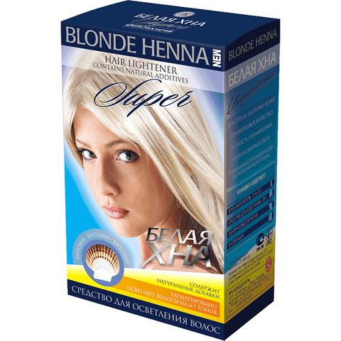 Фитокосметик Blonde Henna Белая хна Super 70г