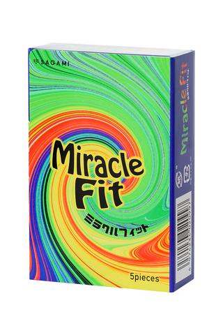 Презервативы латексные Sagami Miracle Fit №5 фото