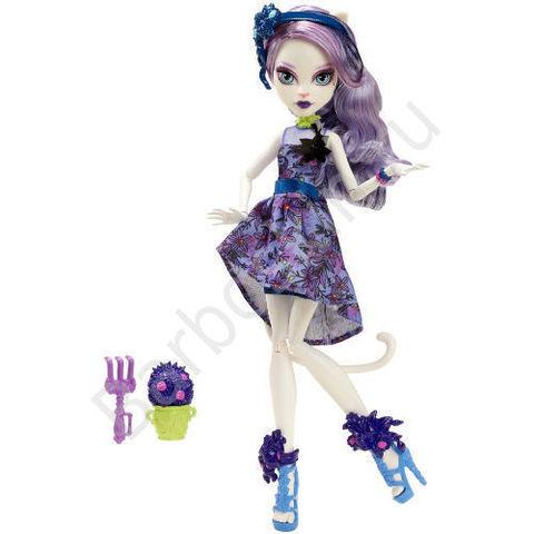 Кукла Monster High Кэтрин Де Мяу (Catrine DeMew) - Мрак и Цветение