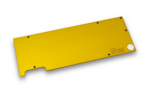 EK-FC1080 GTX Backplate - Gold