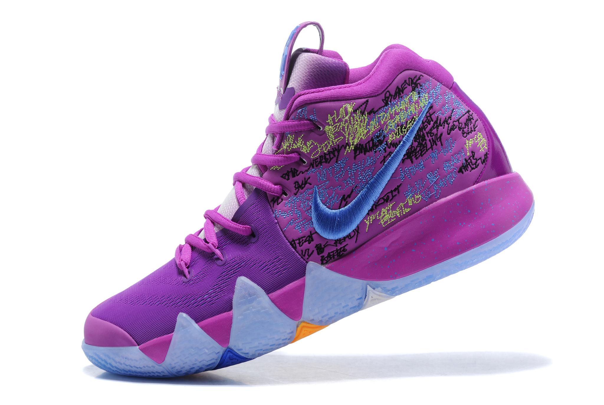 Кроссовки баскетбольные Nike Kyrie 4  Confetti  вы можете купить с ... fddc5e08ab4