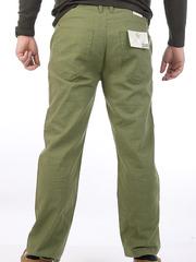 12690 джинсы мужские, зеленые