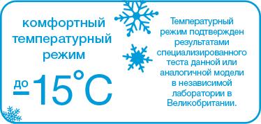 Температурный режим Крокс