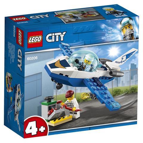 LEGO City: Воздушная полиция: Патрульный самолет 60206 — Sky Police Jet Patrol — Лего Сити Город