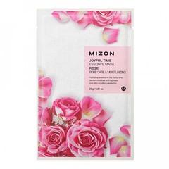 Mizon Joyful Time Essence Mask Rose - Тканевая маска для лица с экстрактом лепестков роз