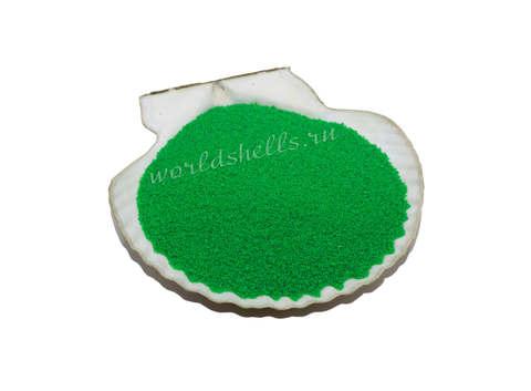 Салатовый цветной песок 300 гр.