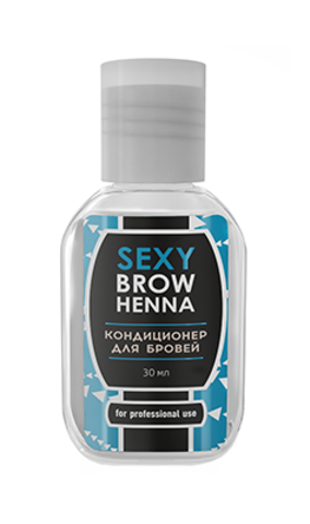 Кондиционер для бровей SEXY BROW HENNA, 30мл