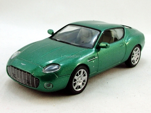 Aston Martin DB7 Zagato 1:43 DeAgostini Supercars #43