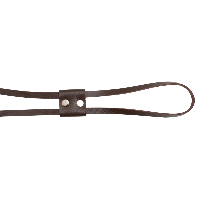 Кожаная фурнитура Кожаная утяжка 70 см темно-коричневая IMG_9285-2.jpg